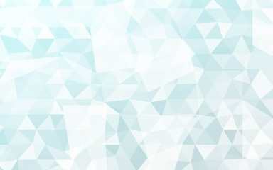 Geometric Background With Transparent Triangles. Vector Illustration. For Your Business Design, Presentation.