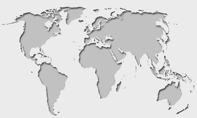 global world map