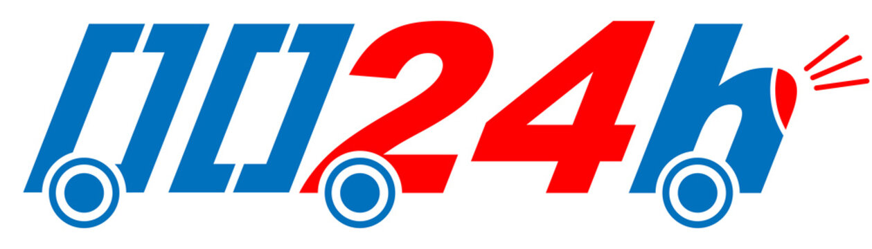 24h fast delivery illustration