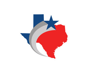 texas-state-logo-in-red-and-blue-lone-star
