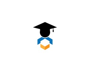 Education logo template vector icon