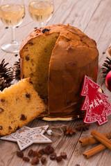 Panettone Christmas cake.