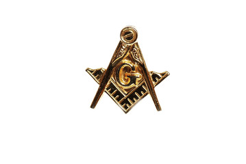 Masonic Emblem Lapel Pin
