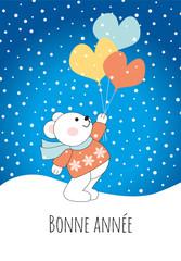 Joyeux Noël-Ourson ballons-3