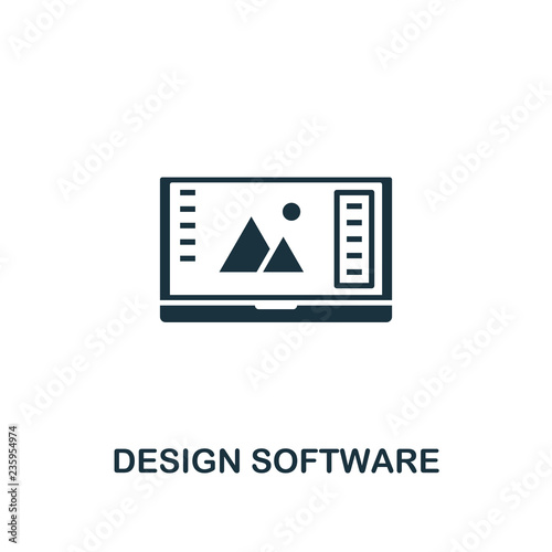 Design Software icon  Premium style design from design ui and ux