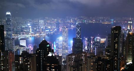 Victoria peak, Hong KoHong Kong city