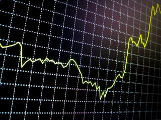 black background, yellow line forex, trading, government procurement, economy, euro, dolar, ruble, sanctions