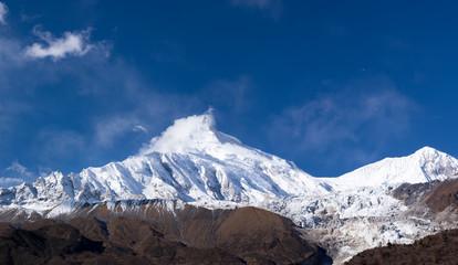 Himalayas in Manaslu region, Nepal