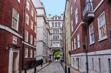 Middle Temple Lane in London, UK