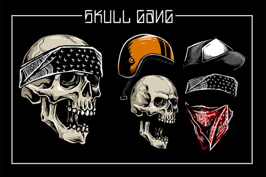 skull gangster lifestyle