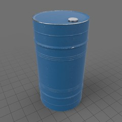 55 gallon metal drum