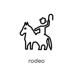 rodeo icon from Circus collection.