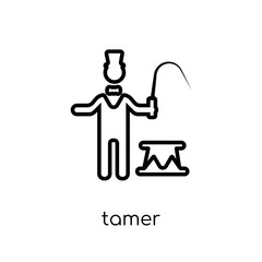 Tamer icon from Circus collection.
