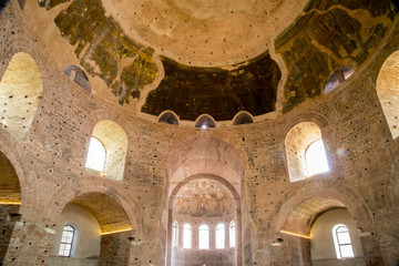 Papiers peints Edifice religieux Interior view of the Rotunda in Thessaloniki, Greece.