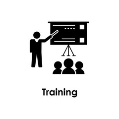 training, trainer, board icon. Element of business icon for mobile concept and web apps. Detailed training, trainer, board icon can be used for web and mobile