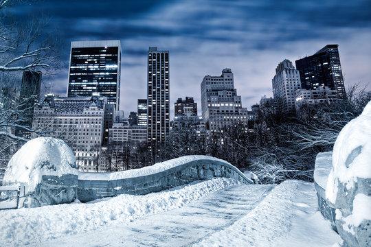 NYC at winter