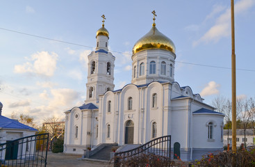 Primorsky Krai, city of Artem, the Church of the Epiphany