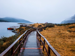 Scenic views of National Park Tierra del Fuego, Ushuaia, Argentina, Patagonia