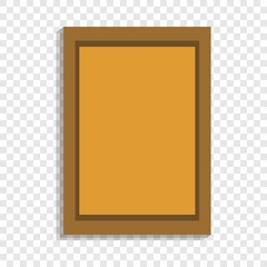 Wall picture icon. Cartoon of wall picture vector icon for web design