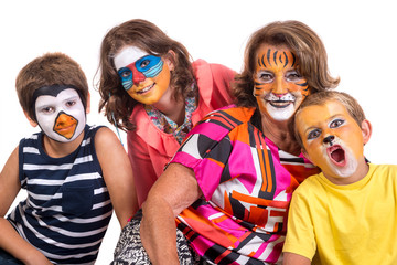 Family face-paint