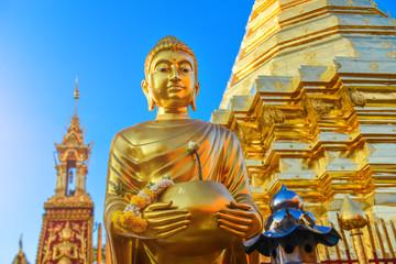 Buddha statue at  Chiangmai Thailand.