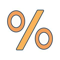 Percentage Vector Icon