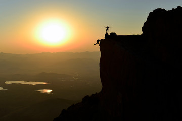 challenging and dangerous peak achievements of rock climbers