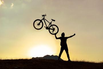 Light bike, driving pleasure and peak success