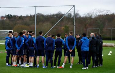Europa League - Rangers Training