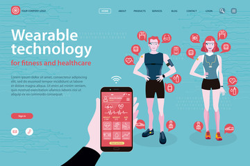 Wearable Technology for Fitness and Healthcare