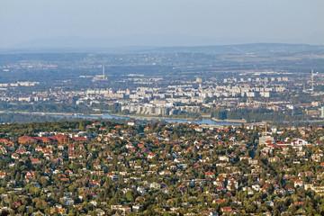 Panaramic view of Budapest, Hungary