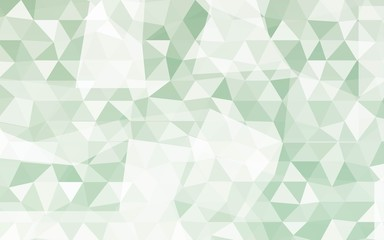 Low-Poly Triangular Geometric Background. Polygonal Mosaic Pattern. Futuristic Design. Vector illustration