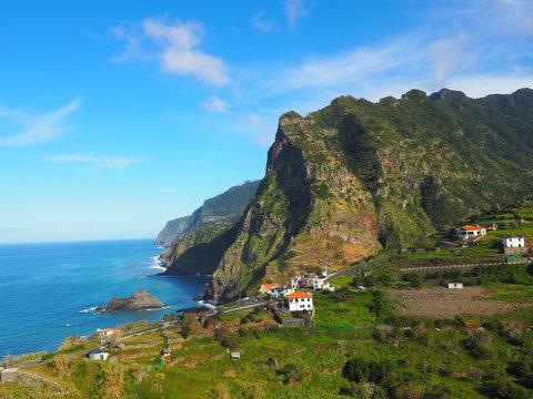 Traumblick im Norden Madeiras