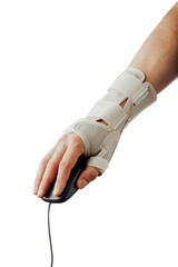wrist and hand orthotics support for carpal tunnel syndrome healing