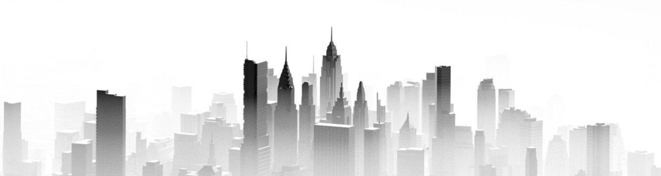 City mist panorama