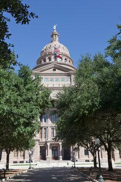 Austin, Texas capitol building.