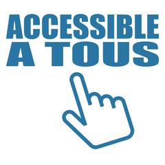 Logo accessible à tous.