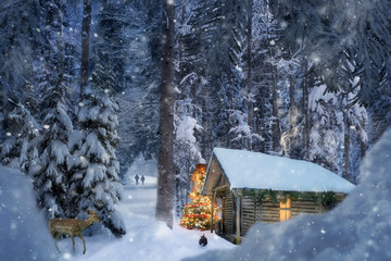 Shack Snow Photos Royalty Free Images Graphics Vectors
