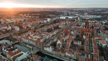Gdańsk krajobraz miasta