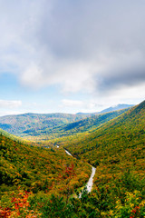 Looking down the Valley, Crawford Notch, NH