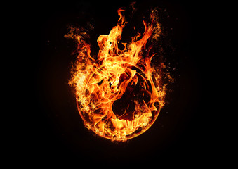 A ring of fire