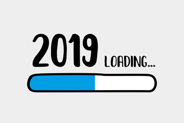 Doodle Download bar,2019 loading text