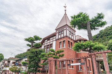 Zelfklevend Fotobehang Asia land 神戸北野異人館街 風見鶏の館