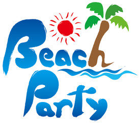BeachParty 筆文字