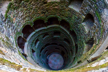 Sintra, Portugal at the Initiation Well.