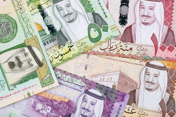 Money from Saudi Arabia, a business background