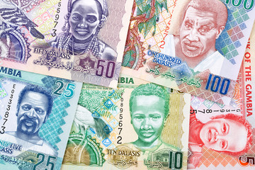 Gambian money a business background