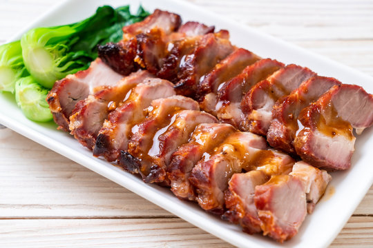 roast barbecue red pork