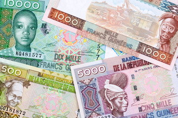Guinean money a business background
