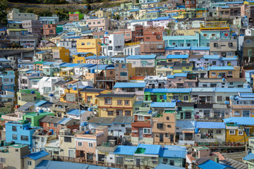View of Gamcheon Cultural Village — Busan, South Korea